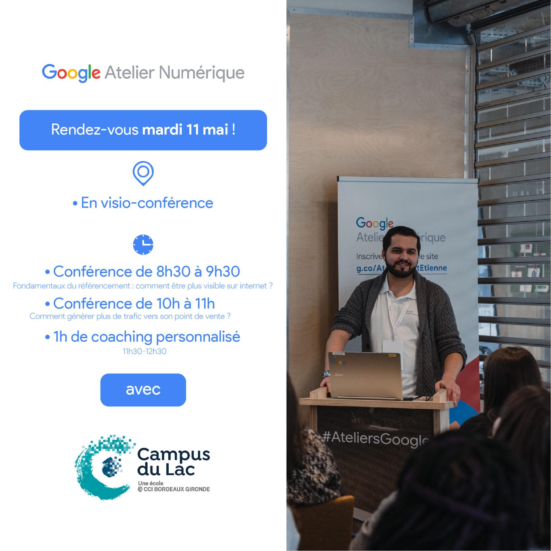 atelier google numérique